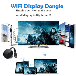 Image 2 - Hot yehua G5  2.4G WIFI HDMI dongle  tv stick support chrome/miracast/aiplay/Dlna, android,for iphone,ios8 above,projector