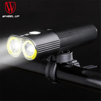 WHEEL UP Bicycle Headlight Dual Chips Super Bright Bike LED Front Lamp 1600 Lumens Internal Battery