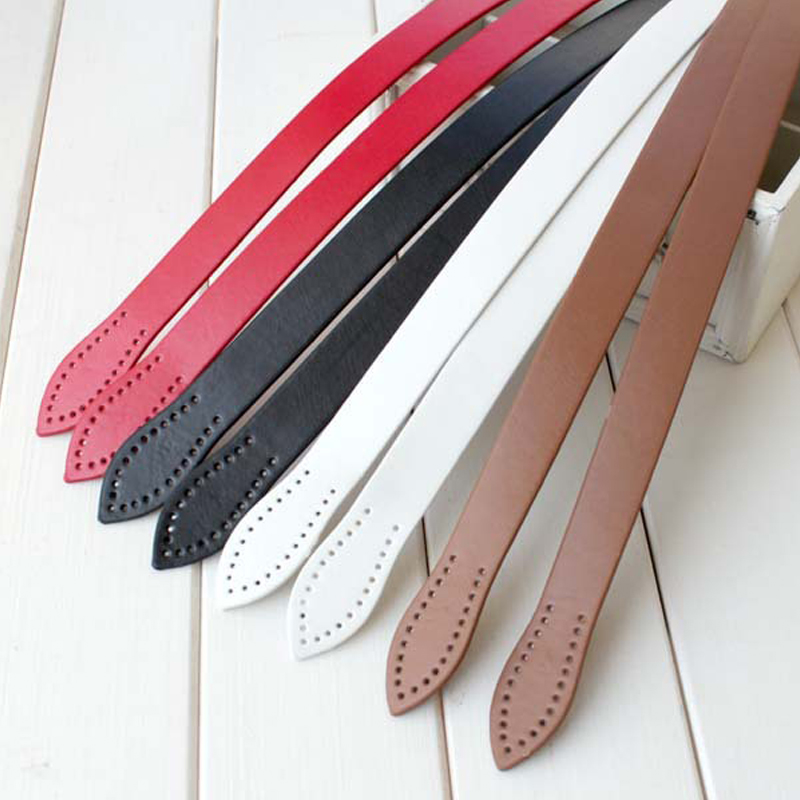 FASHIONS KZ 60cm Bag Strap PU Leather Bag Handle Belts Replacement For Handbag Bag Band Handmade DIY Accessories KZ0006