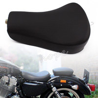 for Harley Sportster Forty Eight XL1200 883 72 48 Motorcycle Leather Driver Pillow Solo Seat Front Cushion Sofa Tour Seat Bench