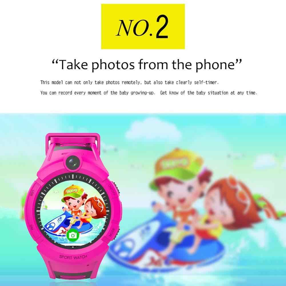 Kids Watch Children Smart Watch LBS GPS Wifi Locator Tracker Anti-Lost SOS Call Camera Children Smartwatch
