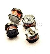 1500 unids/lote Inductores de potencia SMD CD54 33UH de impresión 330