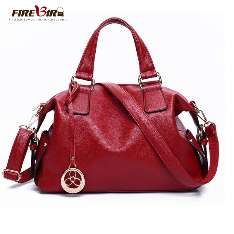 FIREBIRD Genuine leather bag Really cowhide handbag Luxury brand design ladies Tote Bag Crossbody bag for women sac a mai FN293