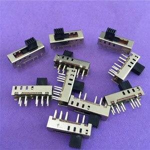 Image 1 - 10 قطعة ST091Y SS24E01 G5 الشريحة مفاتيح العمودي 10 دبوس 4 الموقع التبديل تبديل المصباح 2P4T DP4T dc 50 فولت 0.5a على بيع