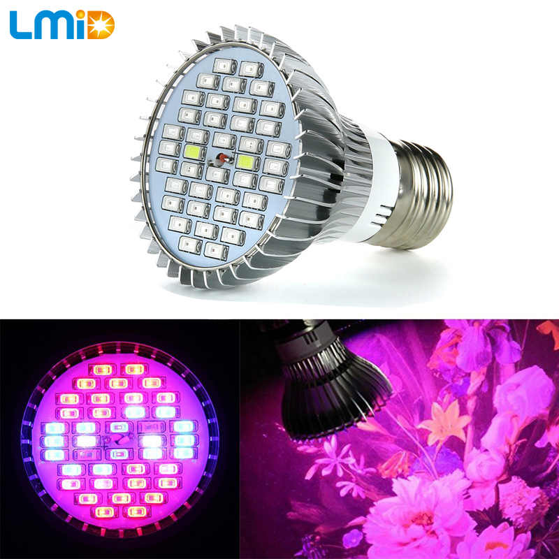 Lmid Full Spectrum Plant Grow Light Bulb 9W E27 Red Blue UV IR LED Growing Lamp for Hydroponics Indoor Flowers Plants Vegetables