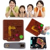 3D Magic Maze Castle Toys Educational Kids Children Gift Novelty Creative