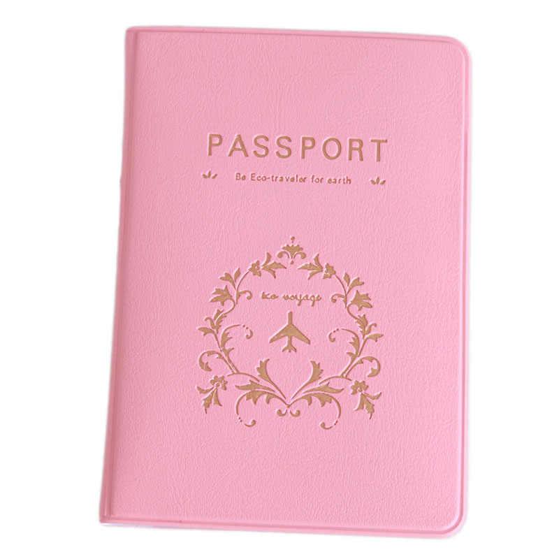 Mới Thời Trang Cặp Đôi Da Hộ Chiếu Passport Cover Kinh Doanh Du Lịch Đựng Hộ Chiếu PVC/Thẻ ID Người Giữ Hộ Chiếu Trọn Gói