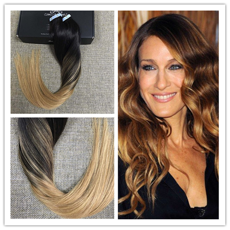 Full shine high quality peruvian balayge remy hair glue in real full shine high quality peruvian balayge remy hair glue in real hair extensions tape hair color 212 ombre tape extensions in skin weft hair extensions pmusecretfo Images