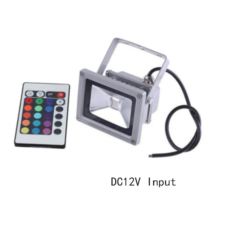 DC 12V 10W 20W 30W 50W led floodlight outdoor spotlight spot flood light lamp RGB refletor led foco exterior projecteur