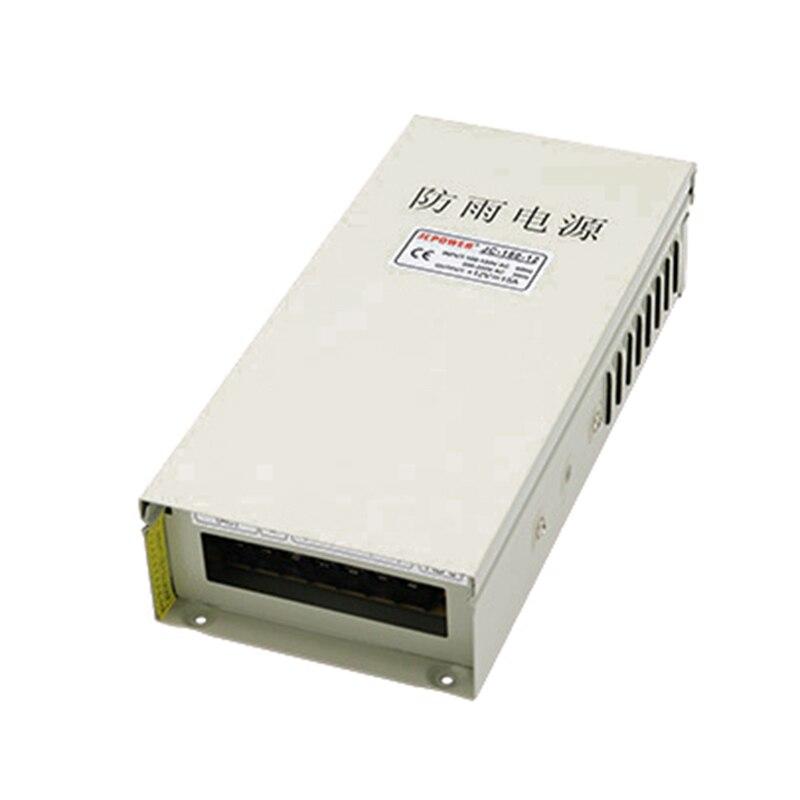 ФОТО  Output DC 12V 20A 240W Rainproof Power Supply Driver DC12V LED power