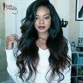 150% Density Full Lace Human Hair Wigs For Black Women Brazilian Human Hair Wigs Body Wave Lace Wig 7A Glueless Full Lace Wigs
