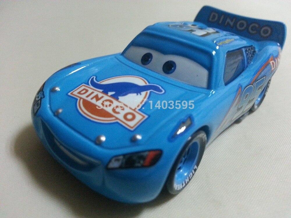 Pixar Arabalar No 95 Dinoco Maikun Metal Döküm Oyuncak Araba 1:55 Gevşek Brand New Stock & Ücretsiz Kargo