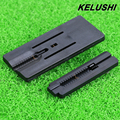 KELUSHI FTTH Fiber Tools Fixed-length Fiber optic wire stripper with cutting guider way Fiber Tool Black