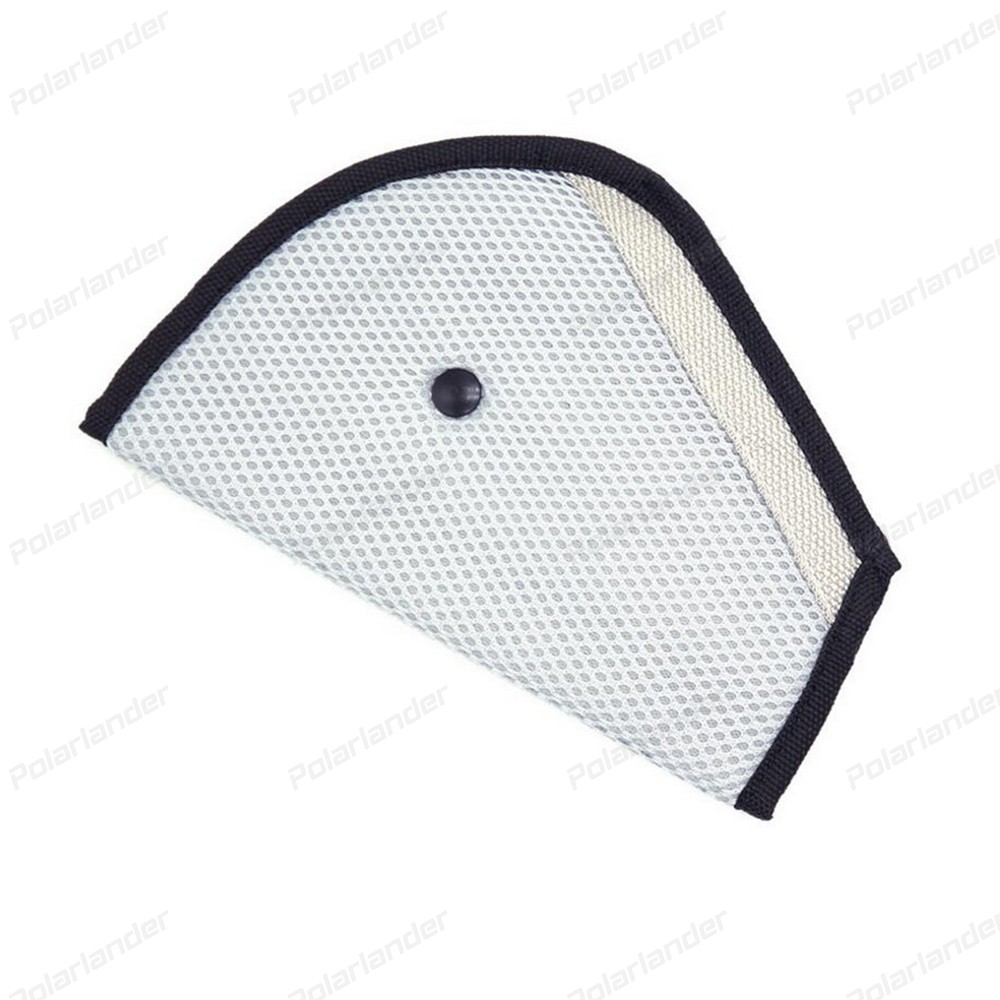 Triangle Car Safety Belt Protector Adjuster For Child Baby Kids Safety Belt Breathable