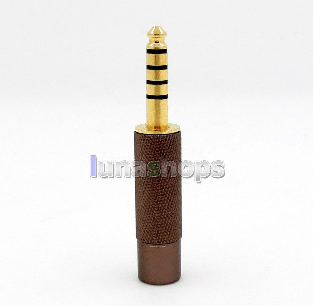 Rhodium Plaqué 4.4mm Équilibré Mâle À 2.5mm TRRS Femelle Convertisseur Casque Écouteur Adaptateur Pour Sony PHA-2A TA-ZH1ES NW LN00574