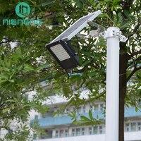 Nieneng Солнечный Прожектор 56 гибкие светодиодные Водонепроницаемый безопасности пейзаж огни с Дистанционное управление Лампы на солнечных б