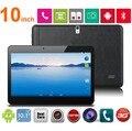 Новый Дешевый 10.1 дюймов quad core 3 Г Телефонный звонок tablet 1024*600 экран Android 4.4 2 ГБ + 32 ГБ Bluetooth GPS Двойная камера 3 Г таблетки