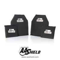 AA баллистический щит мягкие Средства ухода за кожей Панцири пластины Пуленепробиваемый Арамидных core nij LVL IIIA удар resistand плиты Уровень II 10X12 #2