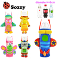 5 estilos Sozzy Marca Crianças Sacos Dos Desenhos Animados Retardamento do Alimentador Huggers Mamadeira Pega a Garrafa De Água Para 3 M-15 T