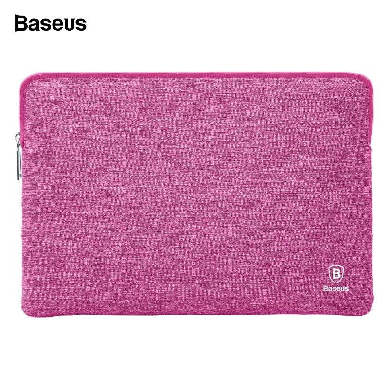 Baseus New Laptop Bag Sleeve Pouch For Macbook Pro 13 15 Inch 2018 2016 A1706 A1707 A1708 Waterproof Soft Sleeve Bag Case image
