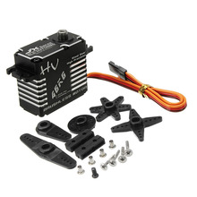 JX BLS HV7146MG 46KG 180 Degrees HV High Precision Steel Gear Digital Brushless Servo For RC