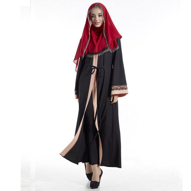 Women Muslim Long Dubai Dress moroccan Kaftan Caftan Jilbab Islamic Abaya Muslim abaya Clothing Turkish arabic dress robe