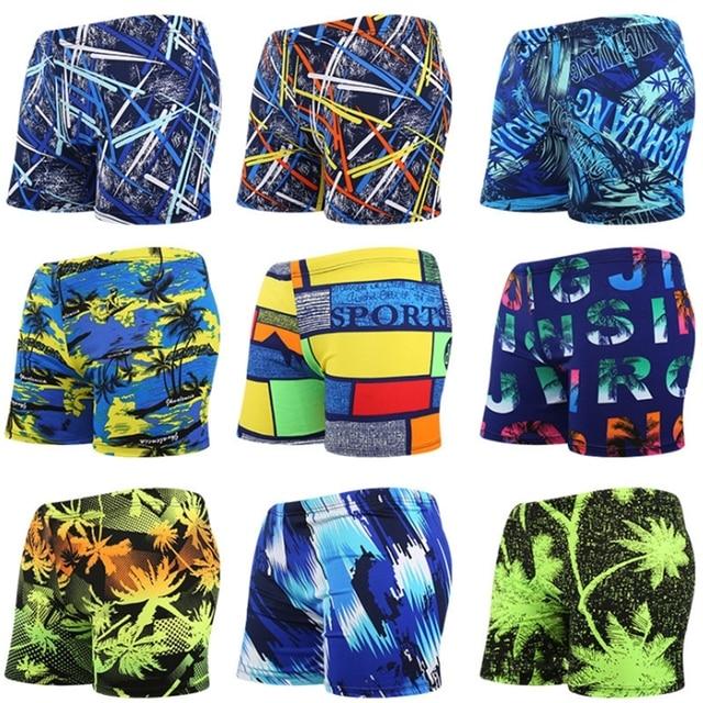 adcfbfef9a 3D Print Men Swim Shorts Men's Swimsuits Surf Board Beach Wear Man Swimming  Trunks Boxer Shorts Sets Breathable Swimwear