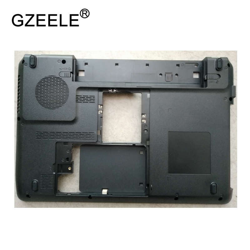 GZEELE New Laptop Bottom Base Case Cover Assembly For Toshiba C645 C640D black Base Chassis D