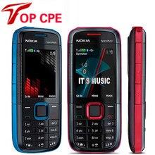 Nokia – téléphone portable d'origine 5130 XpressMusic débloqué, Bluetooth FM, clavier anglais, russe, hébreu et arabe, d'occasion, nouveauté 90%