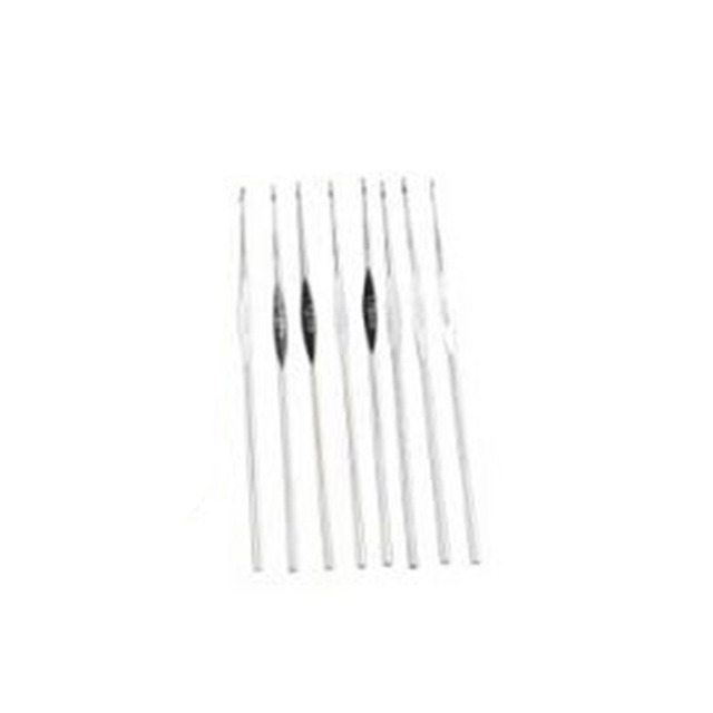 1Pc Portable Leather Case 22pcs Crochet Hooks and 20pcs Knitting Accessories Stitches For DIY Craft