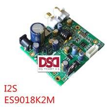 Lo nuevo Brisa ES9018K2M ES9018 Audio Entrada I2S Decodificación Bordo Molino placa HIFI DAC Soporta IIS-32bit 384 K/DSD64 128 256 venta