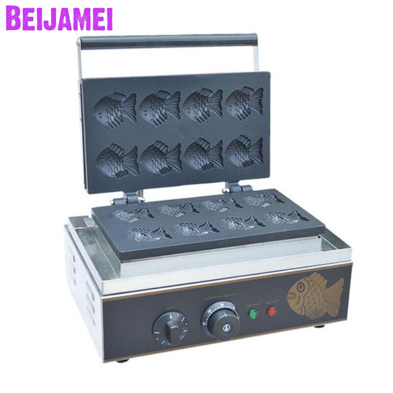 Cooking Appliances Waffle Makers Hearty Beijamei Small Electric Fish Cake Machine 110v 220v Commercial Korean Fish Cake Forming Making Machine A Plastic Case Is Compartmentalized For Safe Storage