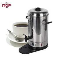 ITOP Alta Qualità 6L In Acciaio Inox Automatico Filtro Macchina Per il Caffè Macchina Per Caffè Espresso EU/US Plug