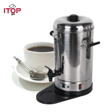 ITOP High-quality 6L Automatic Stainless Steel Coffee Maker Filter Espresso Coffee Machine EU/US Plug