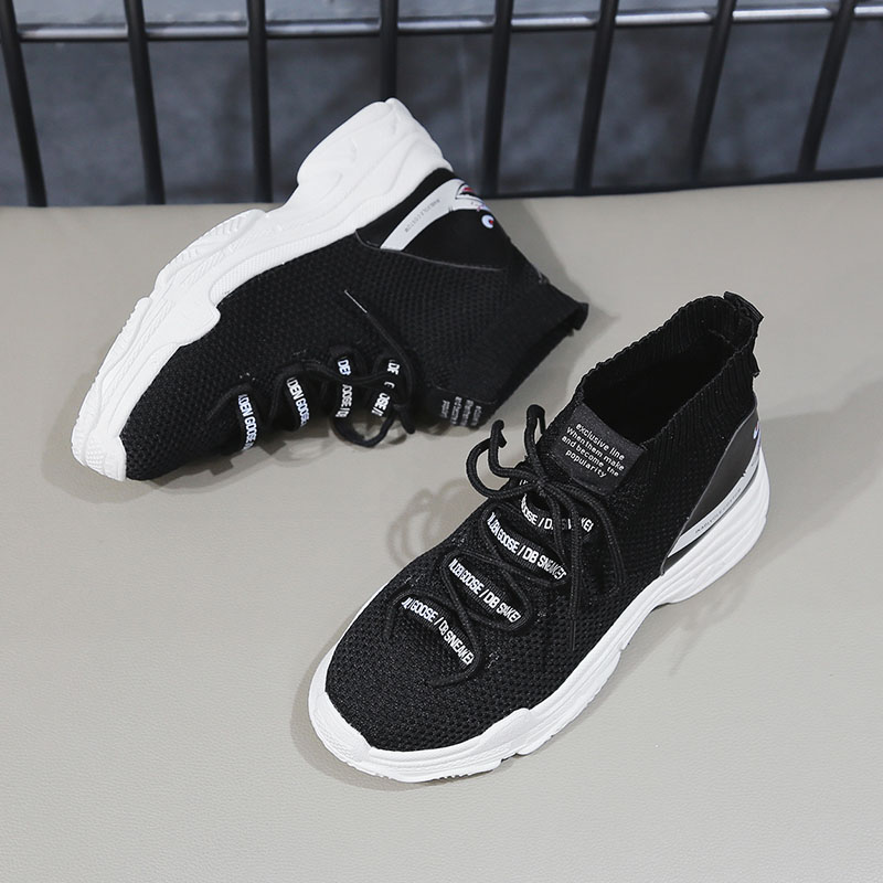 Sooneeya High Top Breathable Sports Shoes for Male Female Height Increasing Sock Running Shoes Man Woman Zapatillas Hombre Mujer