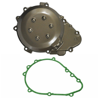 LOPOR Motorcycle Parts Engine Stator Cover Crankcase With Gasket For Kawasaki ZX9R 1998 2003 1999 2000 2001 2002 ZX 9R ZX 9R