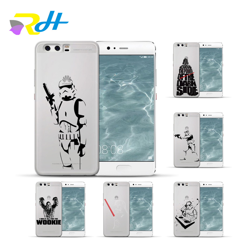 For funda Huawei P8 lite 2017 case Star Wars cover for Huawei P9 ...