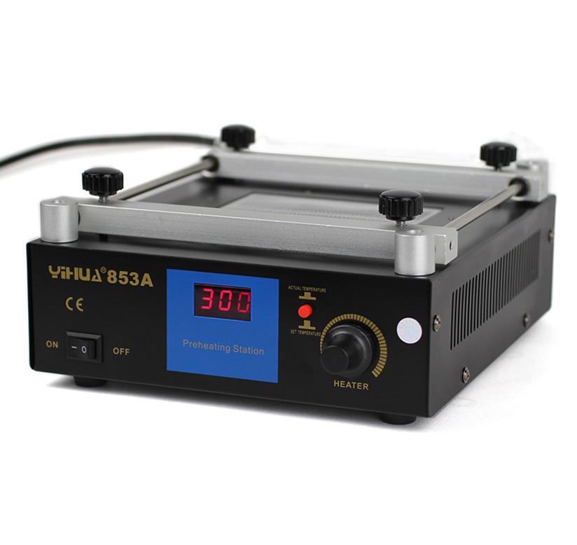 YIHUA 853A Lead-Free Preheat Station , Motherboard BGA Preheating Heating units Soldering Station 853a bga constant temperature lead free preheating stations