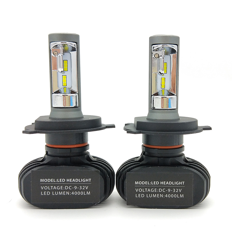 24V Truck LED Headlight Bulbs H4 Hi/Lo H7 H11 H1 Super Bright 8500LM 880 H3 9005 9006 Replace Lorry/Camion Lights