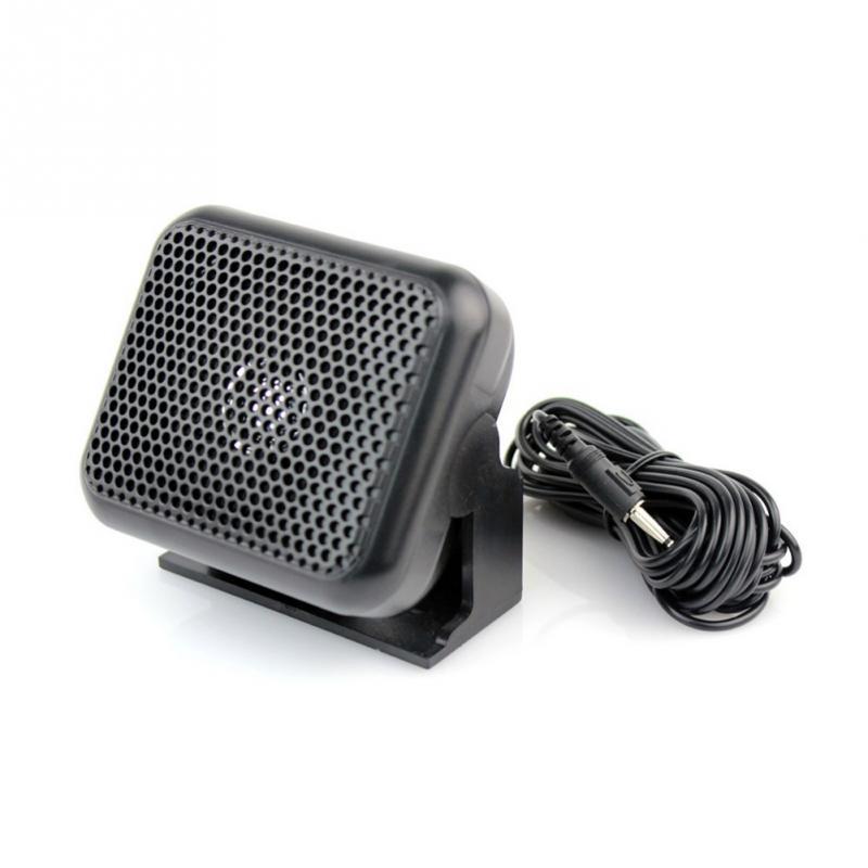 Mini External Speaker NSP-100 For Yaesu For Kenwood For ICOM For Motorola Ham Radio CB Hf Transceiver