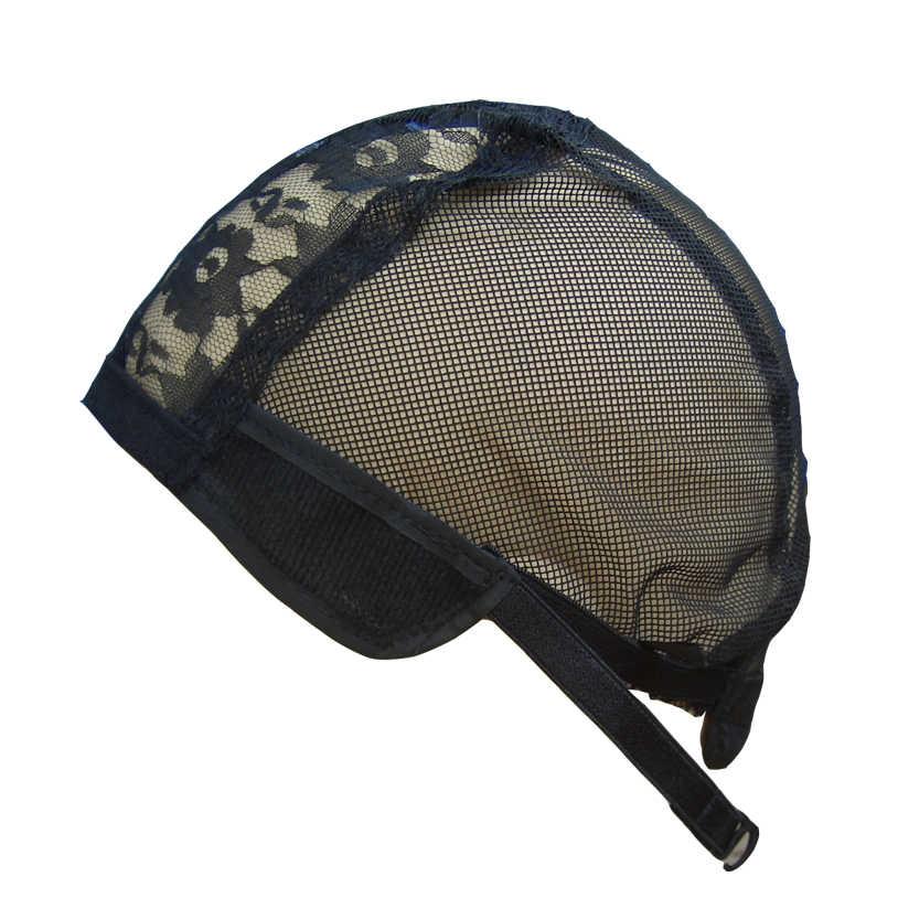 Изготовление париков волос регулируемые ремни стрейч ткачество цвет черный эластичная сетка женские эластичные сетки полный размер 1 шт./лот