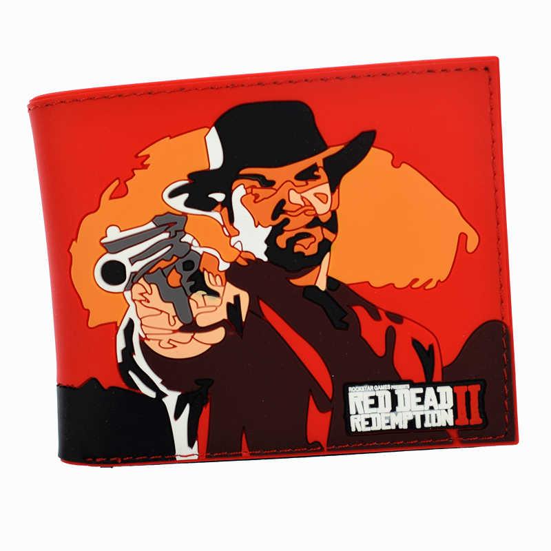 f29ffe3cebd2 Новое поступление игровой кошелек Red Dead Redemption 2 мужские короткие кошельки  Портмоне