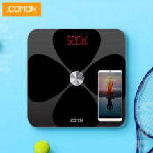 iCOMON Premium Smart Bathroom Weight Scales Floor Household Support Bluetooth APP Fat Percentage Digital Body Fat Weighing Scale