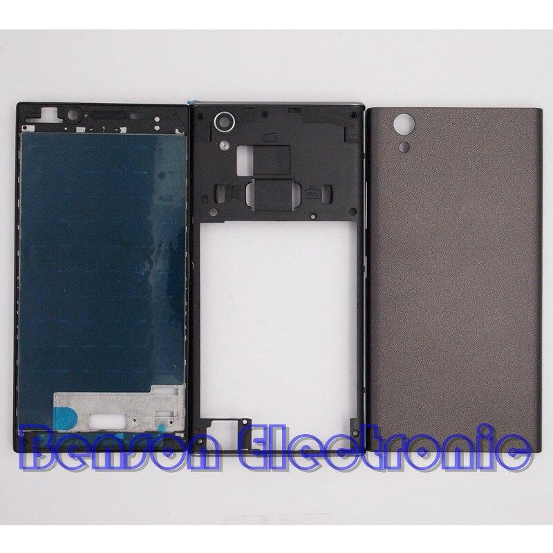 imágenes para BaanSam Nuevo LCD Marco Frontal tapa de La Batería de La Contraportada para lenovo p70 p70-a p70-t vivienda case con el volumen de alimentación botón
