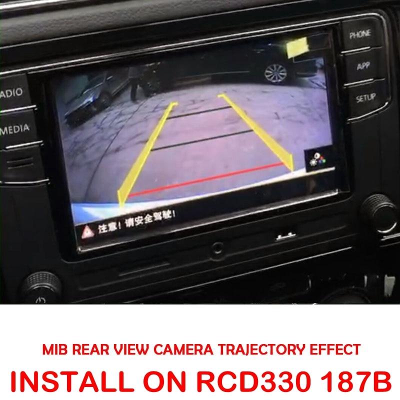 MIB High Line Camera For RCD330 DIS PRO RADIO VW Golf 5 /6/7 JETTA Mk5 MK6 TIGUAN Passat B6 B7 Octavia