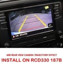 rcd330 plus av rear view camera for vw golf 5 6 7 jetta mk5 mk6 tiguan passat b6 b7 octavia MIB High Line Camera For RCD330 DIS PRO RADIO VW Golf 5 /6/7 JETTA Mk5 MK6 TIGUAN Passat B6 B7 Octavia