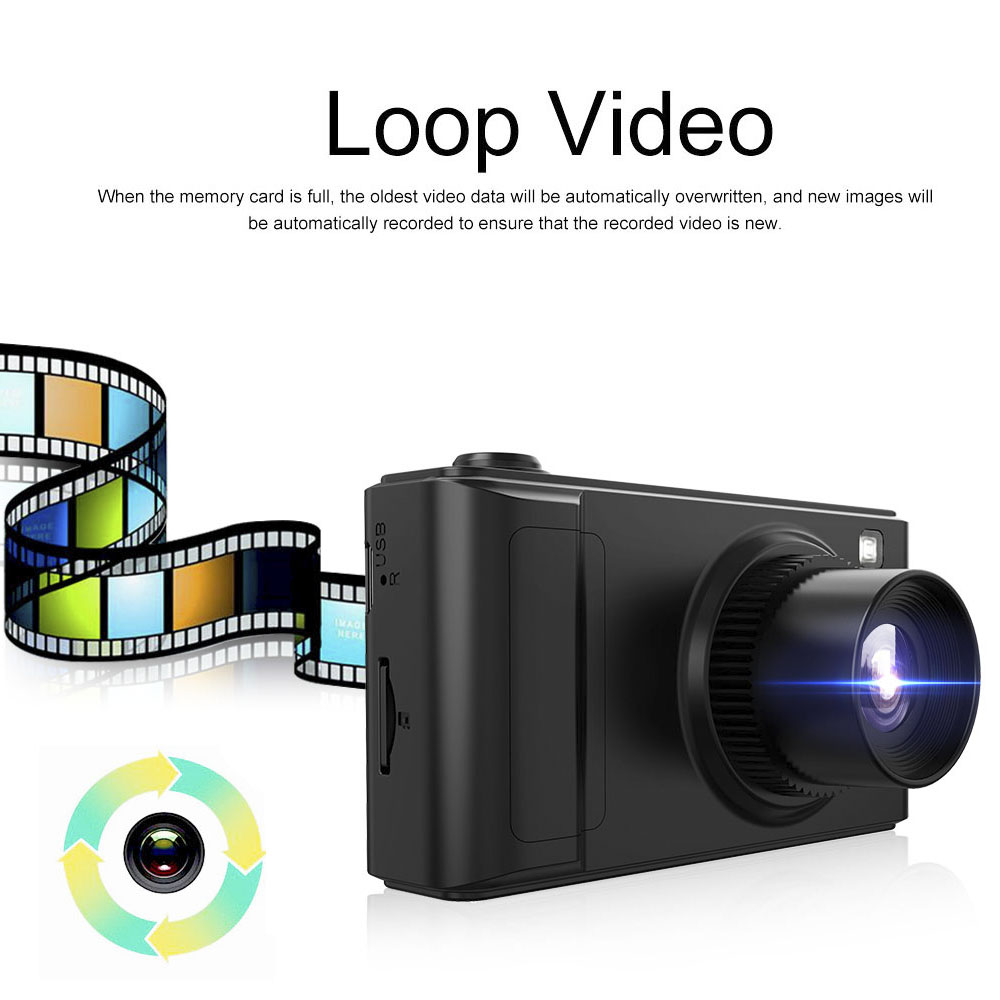 "HGDO 2"" Car DVR Mini Dash Cam Full HD Car Camera Camcorder 1080P Dvrs Night Vision Video Recorder Autoregister Dashcam"