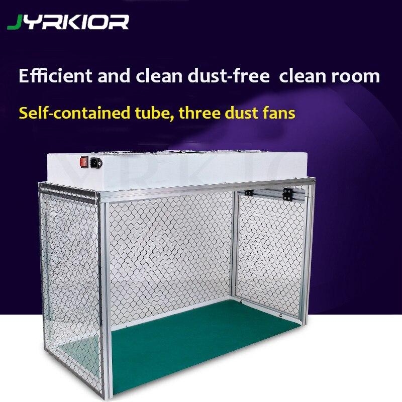 Jyrkior pour écran LCD remis à neuf sans poussière salle poussière etabli sans poussière salle de travail banc Mini FFU Table de travail outil de précision