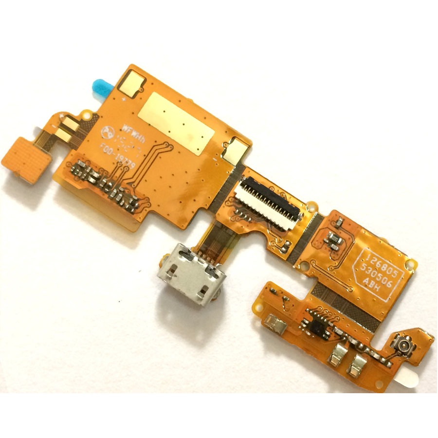 For ZTE Blade V6 / Blade X7 / Blade D6 Charger Port USB Board Charging Port Dock Connector Complete Flex Cable Replacement Part