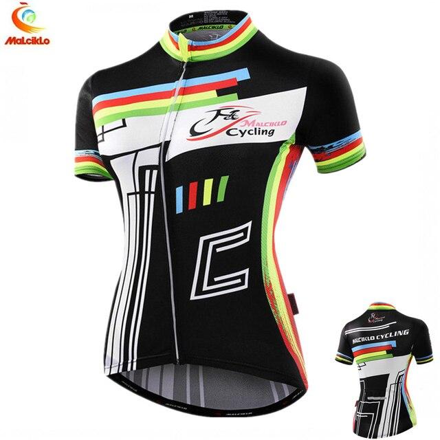 Malciklo Women Cycling Jersey Charges Short Sleeve Bicycle Sports Cycling  Jerseys Summer Shirt Cycling Clothes China Bike bd9b5d870